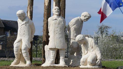La Libre Pensée : Rencontre avec Frédéric Thibault, sculpteur du monument en hommage aux fusillés pour l'exemple à Chauny