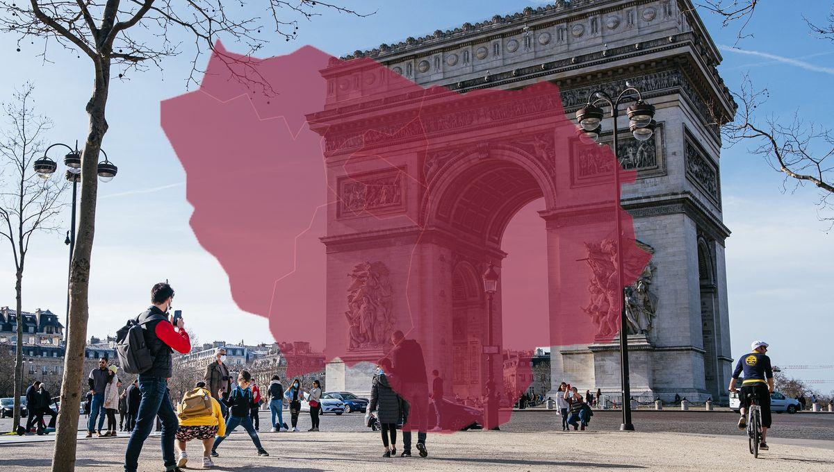 Cinq infographies qui montrent que la Covid circule de plus en plus vite en Île-de-France - France Inter