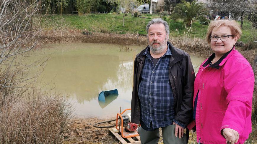Dordogne : la mare aux grenouilles de Grignols aura disparu lundi soir