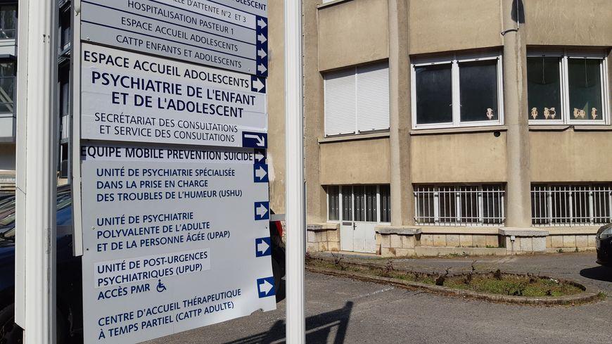 L'unité de pédopsychiatre du CHU Besançon, sur le site Saint-Jacques.