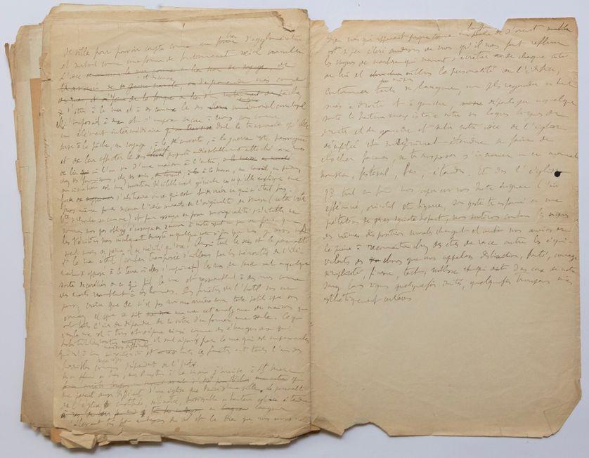 """Les """"soixante-quinze feuillets"""", originaux de la première version de """"La Recherche"""" de Marcel Proust, sont conservés à la Bibliothèque nationale de France."""