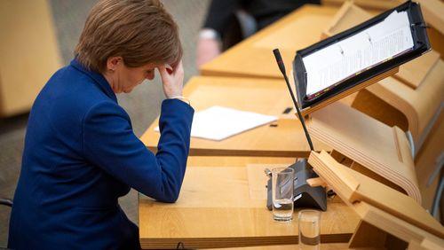 Nicola Sturgeon, première ministre écossaise sur la sellette