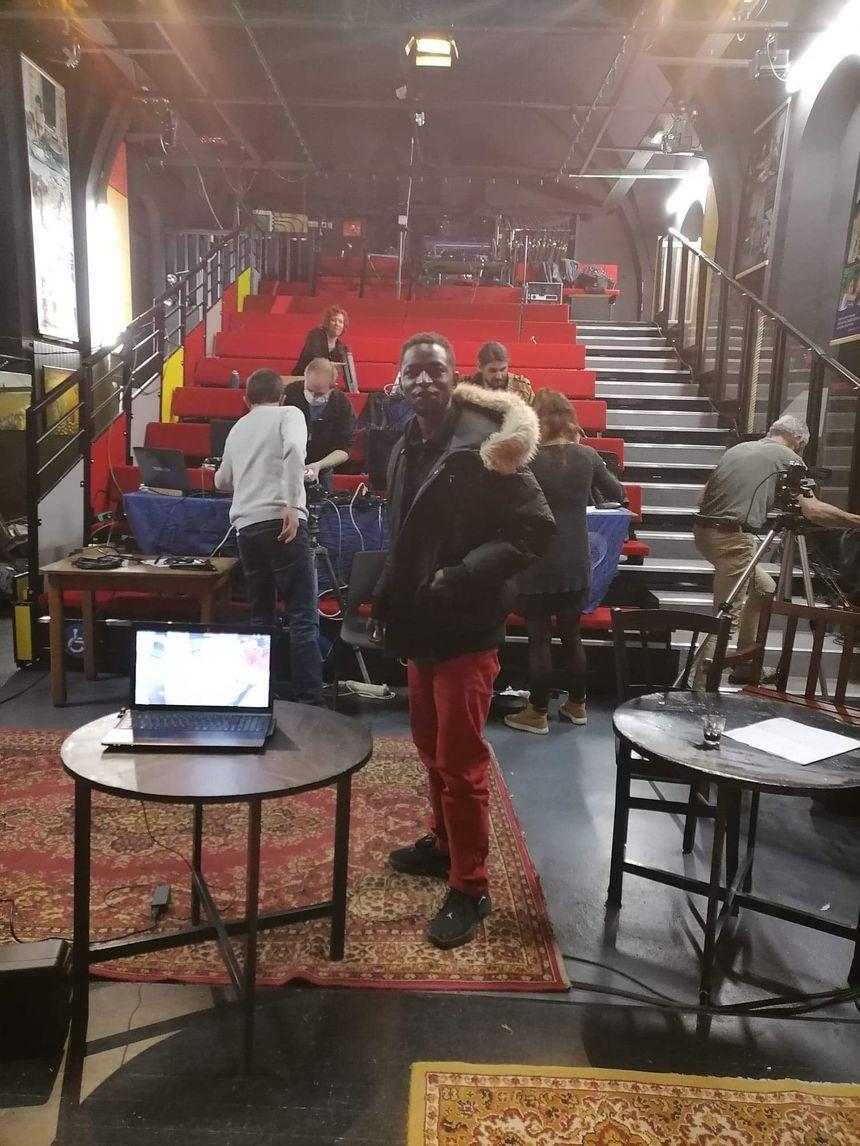 Lamine et le théâtre du tiroir à Laval