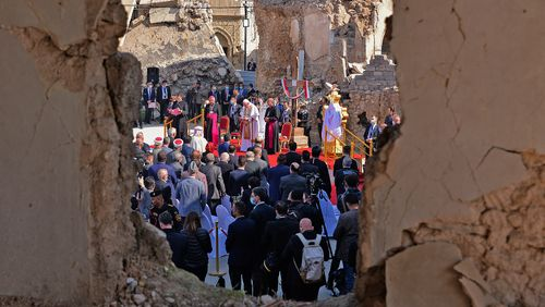 Dernier jour en Irak pour le Pape, en visite à Mossoul et Qaraqosh