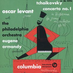 Rhapsody in blue - pour piano et orchestre - OSCAR LEVANT