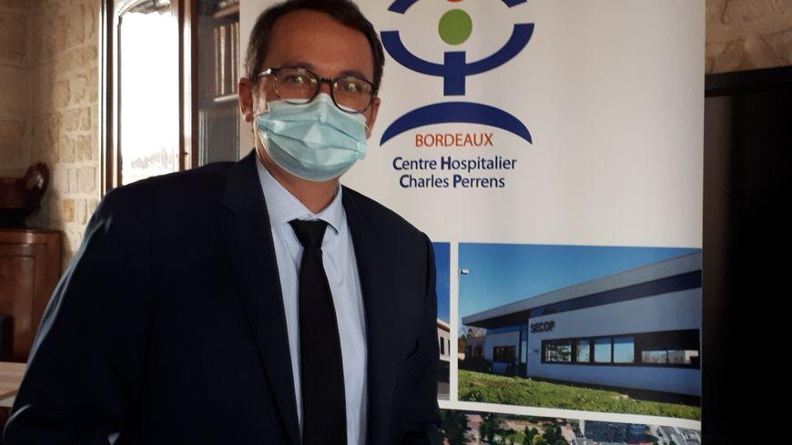 Le directeur de l'hôpital Charles Perrens Thierry Biais évoque une lame de fond
