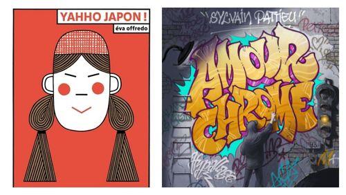"""Littérature jeunesse : """"Amour Chrome"""" de Sylvain Pattieu et """"Yahho Japon !"""" d'Eva Offredo"""