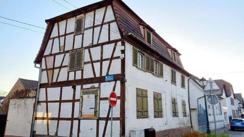 Les riverains de Brumath veulent sauver cette maison à colombages menacée d'être rasée