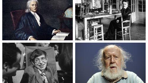 8 grandes figures de l'histoire des sciences