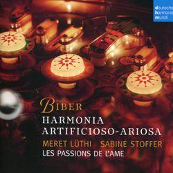 Harmonia Artificioso - Arioso en ut min (7ème Partie) : 7. Arietta variata - pour 2 violes d'amour et basse continue - MERET LUTHI