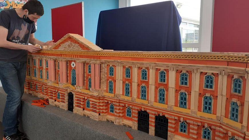 La nouvelle éco : des demandes d'animation toutes les semaines pour le nouveau centre Kapla de Toulouse