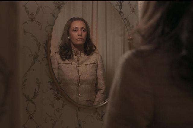 """L'actrice Karole Rocher incarne """"Madame Claude"""" dans le dernier film de Sylvie Verheyde, 2021"""