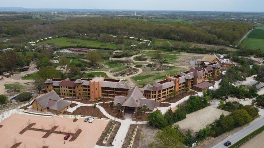 Toutes les chambres sont équipées de terrasses avec vue.