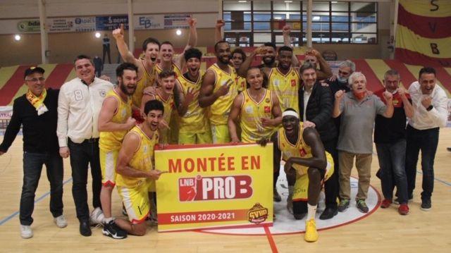 <b>Basket</b> : Saint-Vallier bat Boulogne-sur-Mer et remonte en <b>Pro B</b>