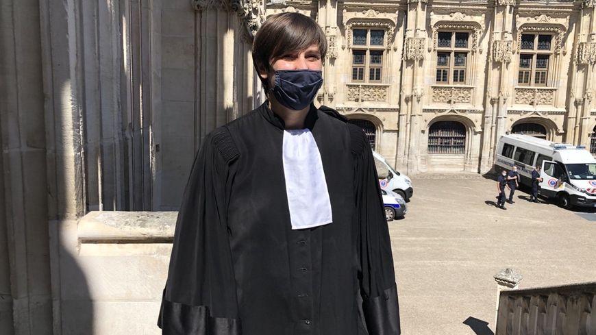 L'avocate de la défense, Célia Lacaisse
