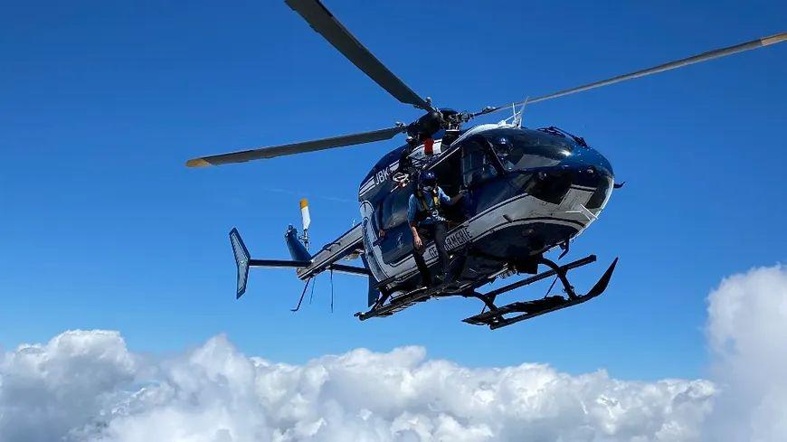L'hélicoptère du PGHM de Chamonix (photo d'illustration)