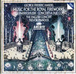 Musique pour les feux d'artifice royaux HWV 315 CB145 : Ouverture - TREVOR PINNOCK
