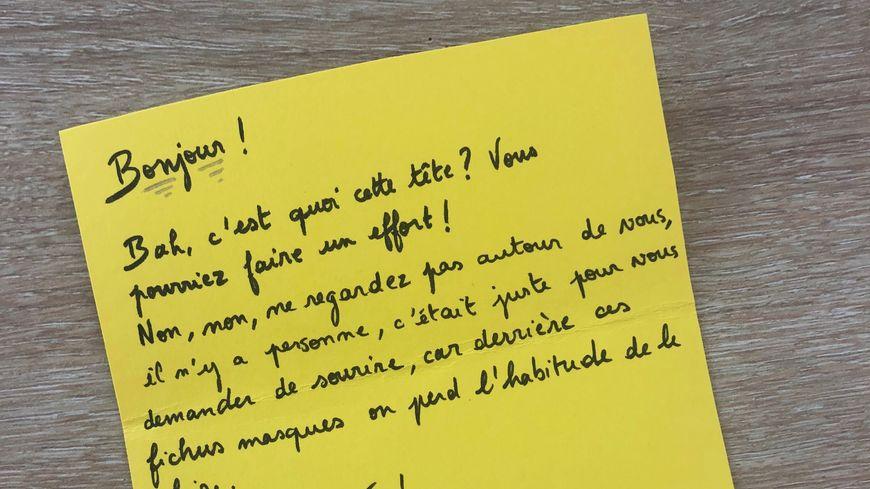 Des lettres anonymes mais bienveillantes à Vicq-sur-Mer dans le Val de Saire