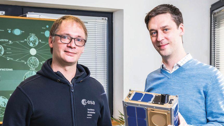 Jonathan et Clément Galic, deux frères rennais, ont créé l'entreprise Unseenlabs en 2015.