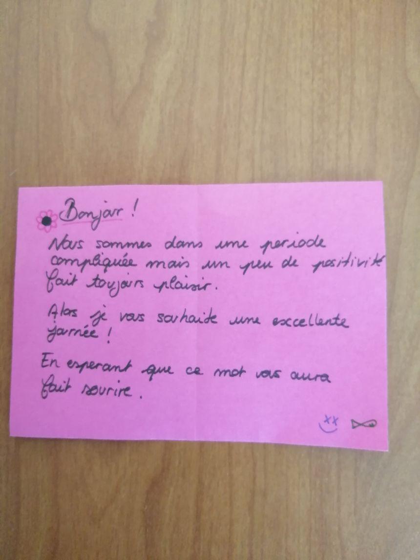 Exemple d'une lettre anonyme