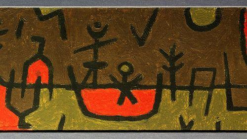 """""""Paul Klee et Monsieur La Mort - Journal imaginaire 1915-1917"""" de Célia Houdart"""