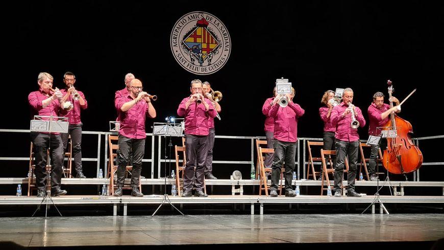 Le concert de samedi, à Sant Feliu de Guíxols, en Catalogne.