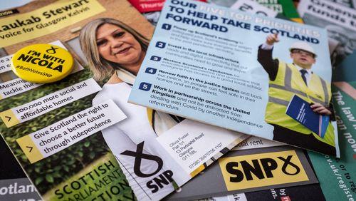 Victoire des indépendantistes du SNP en Écosse
