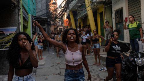 Une descente de police dans une favela de Rio vire au massacre