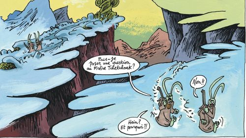 """Jean-Christophe Menu : """" Qu'est-ce qu'on peut encore inventer en bande-dessinée ? """""""