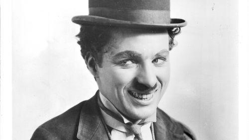 L'artiste Charlie Chaplin