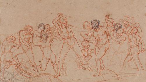 """""""La traite des Noirs"""", le pendant inachevé du """"Radeau de la Méduse"""" de Géricault"""