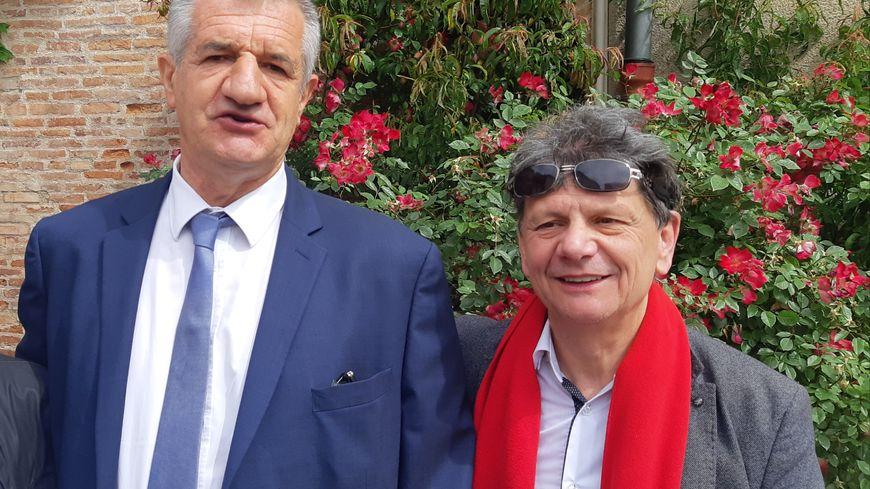 Jean-Luc Davezac tête de liste de Bastir Occitanie avec le soutien de taille Jean Lassalle.