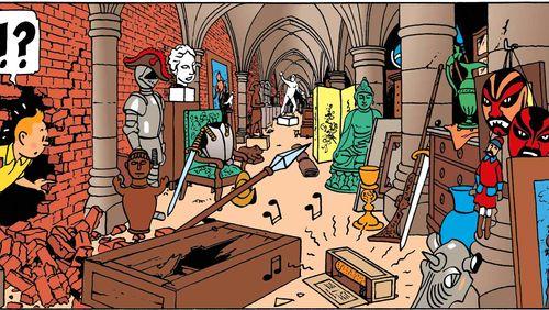 Nuit Tintin, Haddock…et la Castafiore ! (3/10) : Les Aventures de Tintin - Le Secret de la Licorne : Episodes 6 à 10