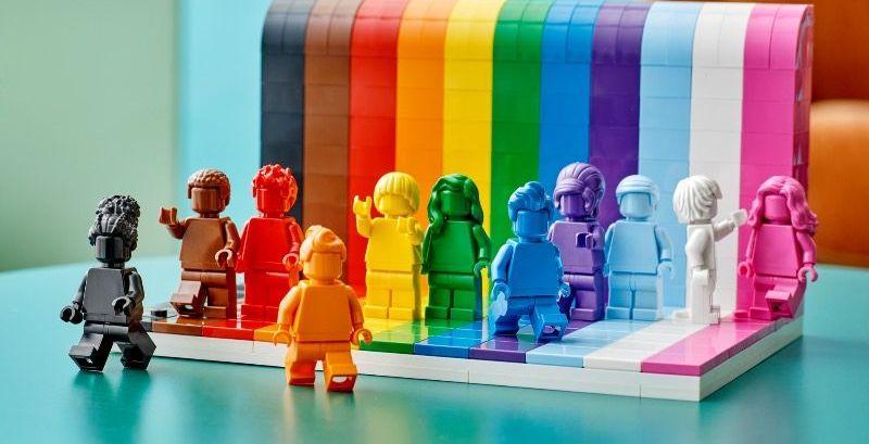 Lego sort un coffret pour célébrer la communauté LGBTQIA+