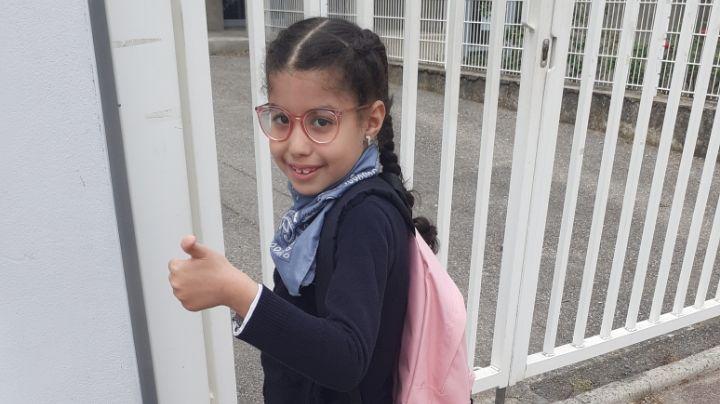 Chirine, 7 ans, est atteinte du sydrome d'Ondine, une maladie génétique rare responsable de graves difficultés respiratoires.