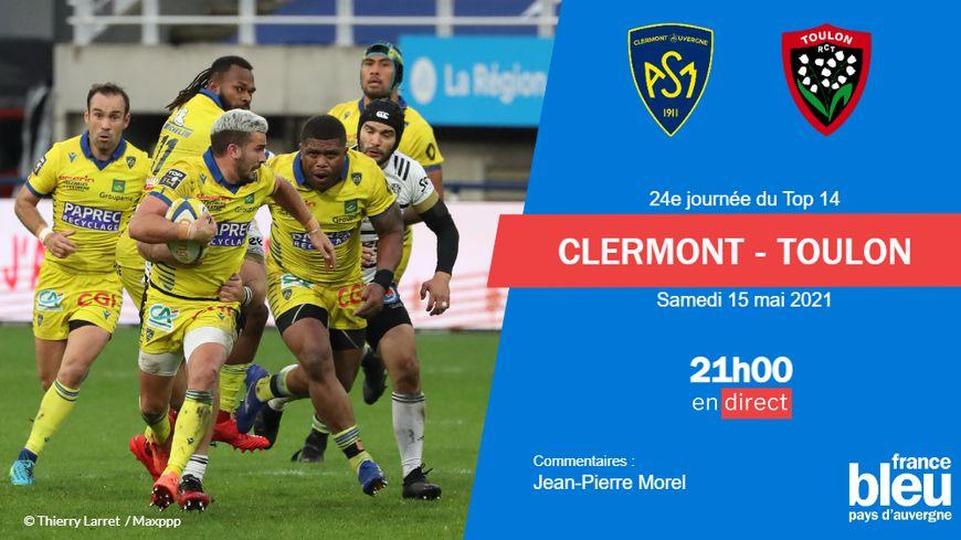 TOP 14 Orange, demi-finale / Clermont – Toulon: irrésistibles et orgueilleux