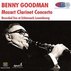 Concerto pour clarinette en La Maj K 622 : 2. Adagio - BENNY GOODMAN
