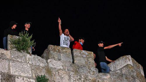 Affrontements violents à Jérusalem-Est, en pleine prière sur l'Esplanade des Mosquées
