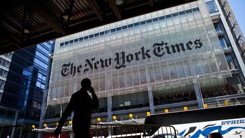 Le New York Times à Paris
