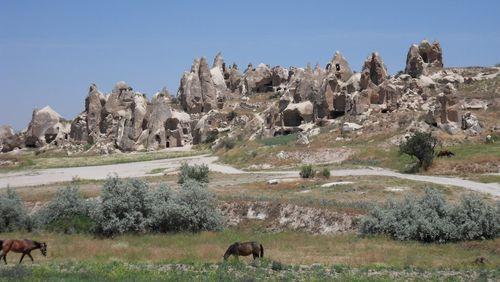 Cappadoce, la chapelle des donateurs, avec Anaïs Lamesa