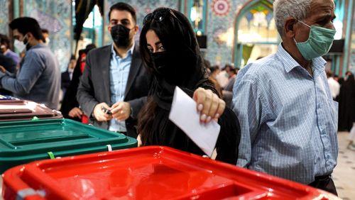 L'ombre d'une abstention record plane sur la présidentielle en Iran