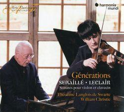 Sonate pour violon et basse continue en Fa Maj op 2 n°2 : 1. Adagio - THEOTIME LANGLOIS DE SWARTE