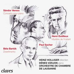 Divertimento BB 118 Sz 113 : Allegro assai - pour orchestre à cordes - DENES VARJON