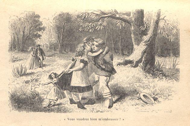 Illustration de François le bossu, personnage de la comtesse de Ségur par Emile Bayard, 1864
