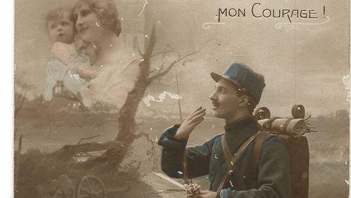 """Épisode 7 : Jean Pierre Ceton :  """"Le roman """"Petit homme chéri"""", présente des correspondances croisées pendant la guerre de 14-18, retrouvées dans une malle"""""""