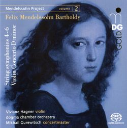 Concerto pour violon en ré min MWV O 3 : 3. Allegro - VIVIANE HAGNER
