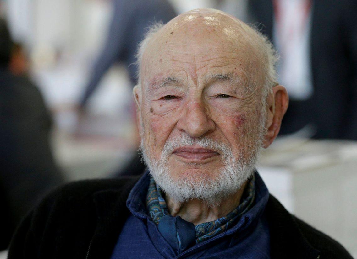 Le sociologue Edgar Morin, 2019