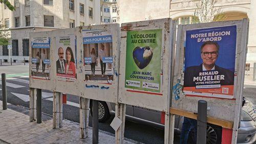 Élections régionales : trois jours en PACA