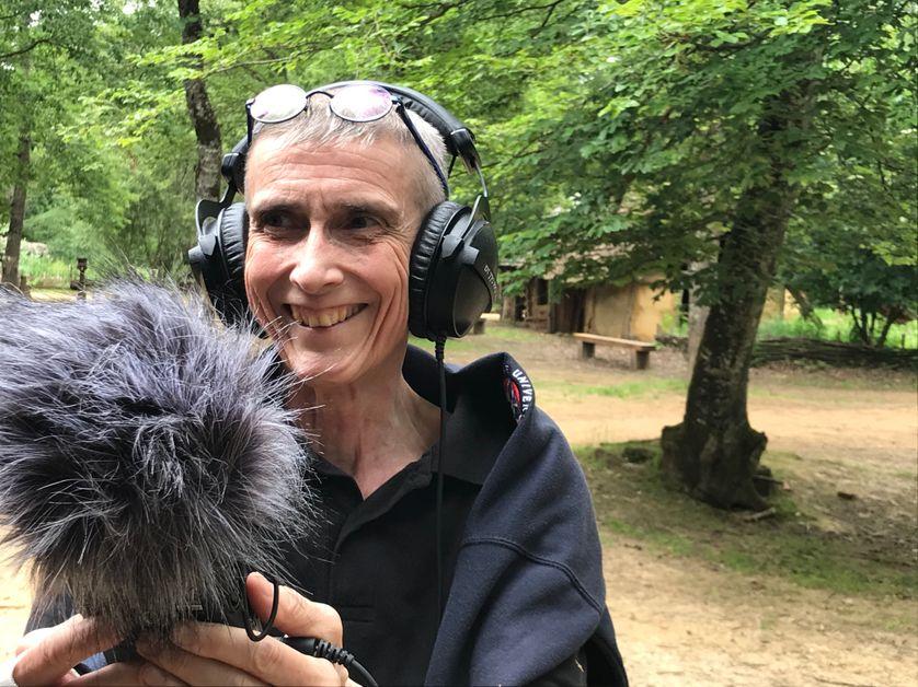 Mylène Pardoën, archéologue du paysage sonore