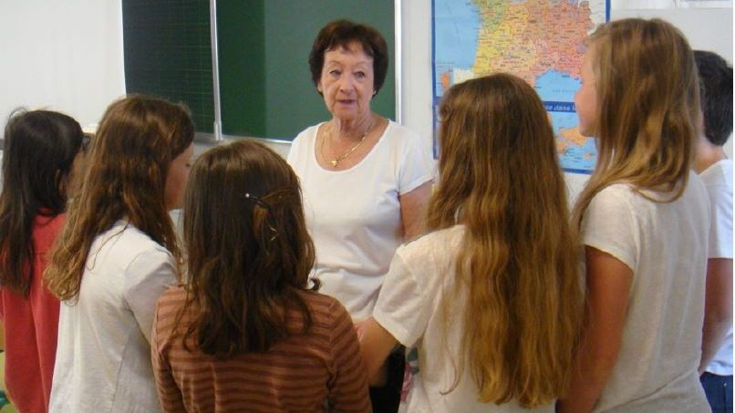 Edith Moskovic allait témoigner dans les écoles des horreurs du régime nazi et de la shoa